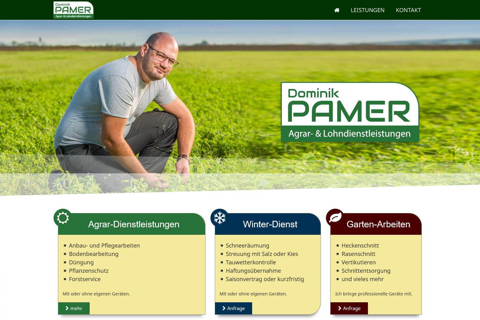 agrar-pamer.at by weidinger.design