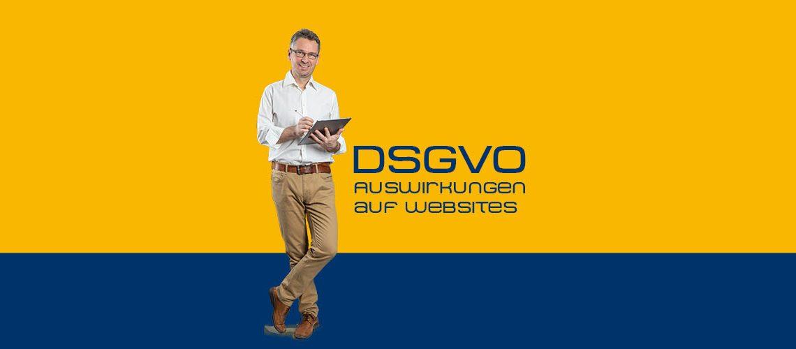 DSGVO - Auswirkungen auf Websites
